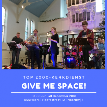 Give me space! Top2000-kerkdienst - 30 december
