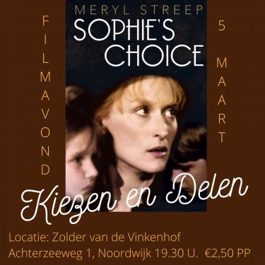 Filmavond Sophie's choice